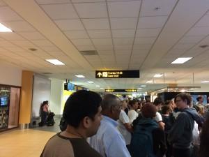 【W#95】ロサンゼルス(1)〜入国審査と荷物