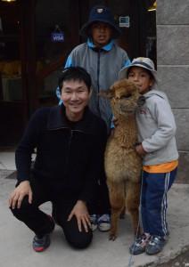 Llamas and me