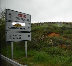 Portugal border