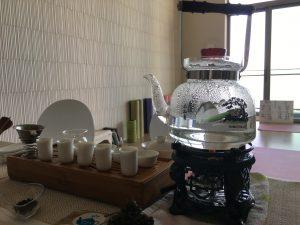 【Y#83】中国茶とヨガで極上の癒しのひととき〜烏龍茶とヨガで心を癒すことができた
